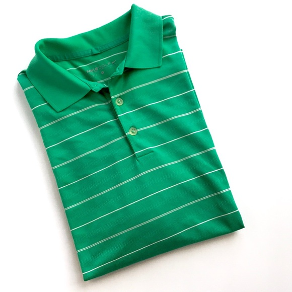 7993cbbba Nike Shirts   Golf Polo Green White   Poshmark